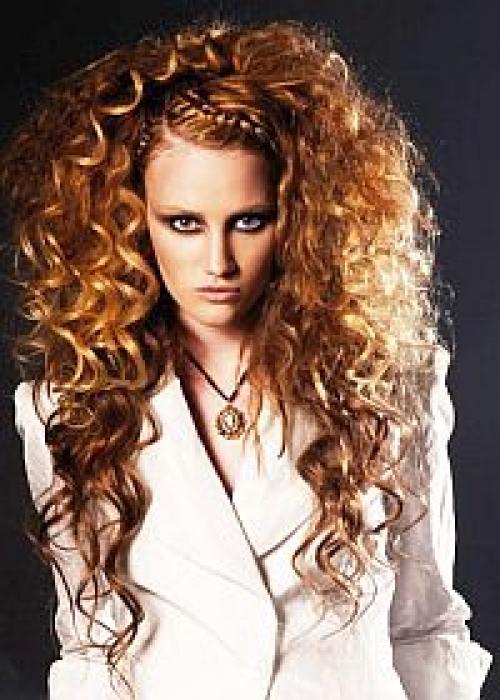 Хим.завивка волос на чистые волосы