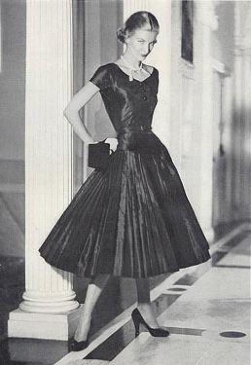 платье 50 х годов фото.
