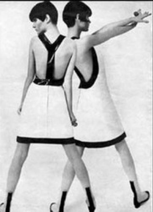 Молодежный стиль 60 годов.