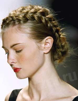 """На нашем женском сайте  """"Дамочка """" Вы в любое время отыщите публикацию - плетение красивых кос на волосы средней длины..."""