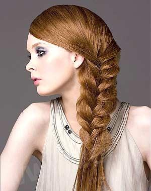Картинки косички на длинные волосы с схемами - 35f