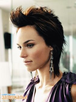 Окрашивание волос креотивное схема - Стильные прически.