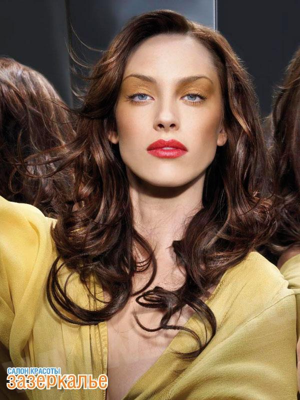 Укладка вьющихся волос стрижки 2013